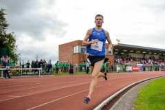 Joseph Lyons of Dublin Track Club, Co. Dublin, on his way to finishing third in the 3000m Open Men event sponsored by Leisure World during the BAM Cork City Sports at CIT Athletics Stadium in Bishopstown, Cork. Photo by Sam Barnes/Sportsfile