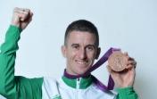 Robert  Heffernan Presented Olympic Medal In Front Of Home Crowd