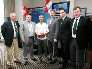 ROB HEFFERNAN WINS CORK CITY SPORTS ATHLETICS PERSON OF THE YEAR AWARD