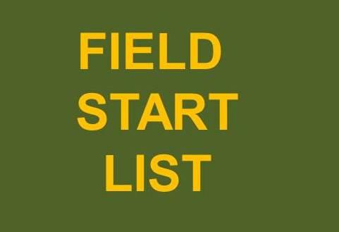 Field Start List